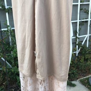 love, Fire Dresses - Racerback lace, Tea length dress
